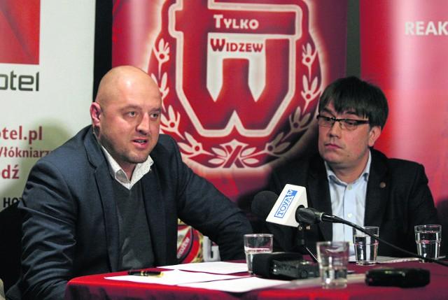 Prezesi Marcin Ferdzyn (od lewej) i Tomasz Figlewicz porozumieli się w sprawie grup młodzieżowych