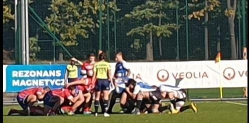 Rugby. Master Pharm Budowlani zdobyli 80 punktów