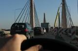 Wrocław: Na trzy dni zwężą jezdnię na moście Milenijnym. Mogą być korki
