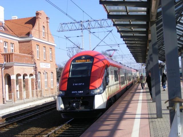 Elfy kursują już między innymi na trasie Poznań - Konin - Kutno, a także po Mazowszu