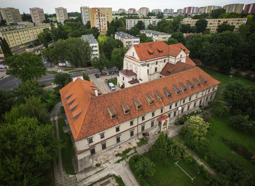 Kalinowszczyzna na zdjęciach z drona: kościół Salezjanów pod wezwaniem Matki Bożej Wspomożenia Wiernych w Lublinie