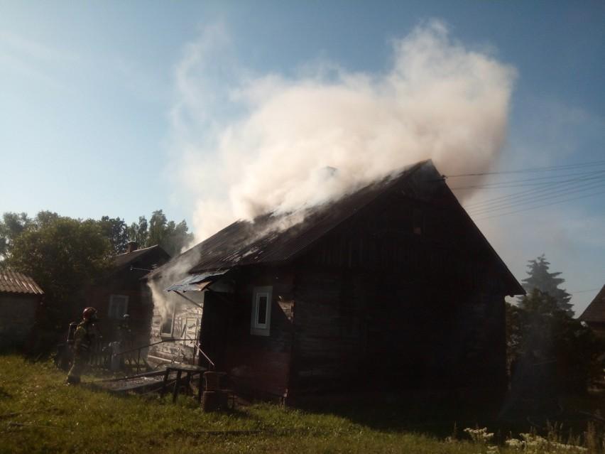 Pożar w Andryjankach