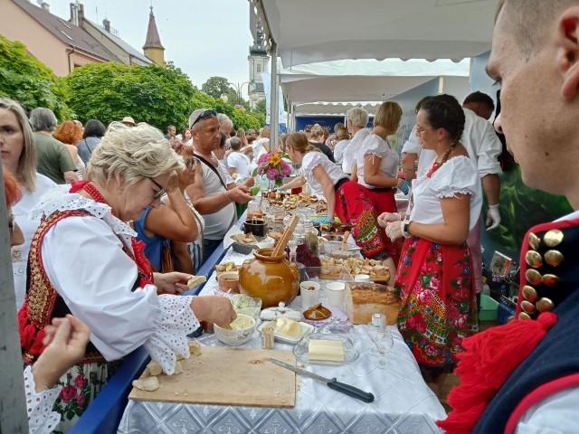 Małopolski Festiwal Smaku na tuchowskim Rynku