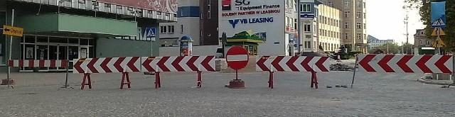 Trwa remont jezdni w okolicach Centralu