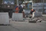 Przedłuża się w nieskończoność przebudowa ulicy Fałata