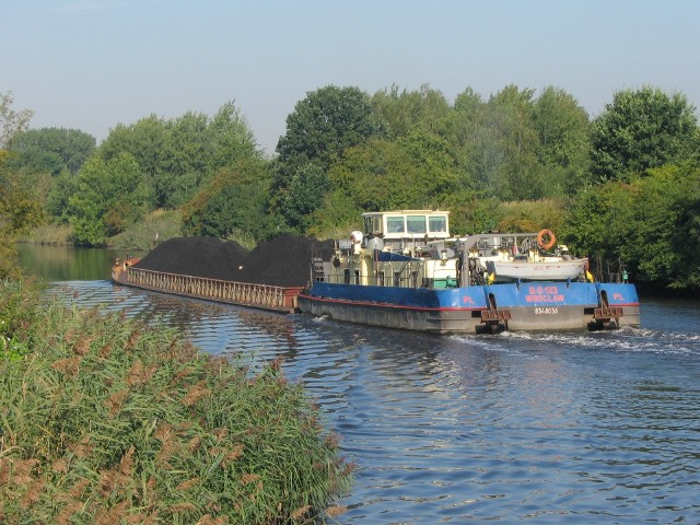 Kanałem Gliwickim będzie transportowany węgiel