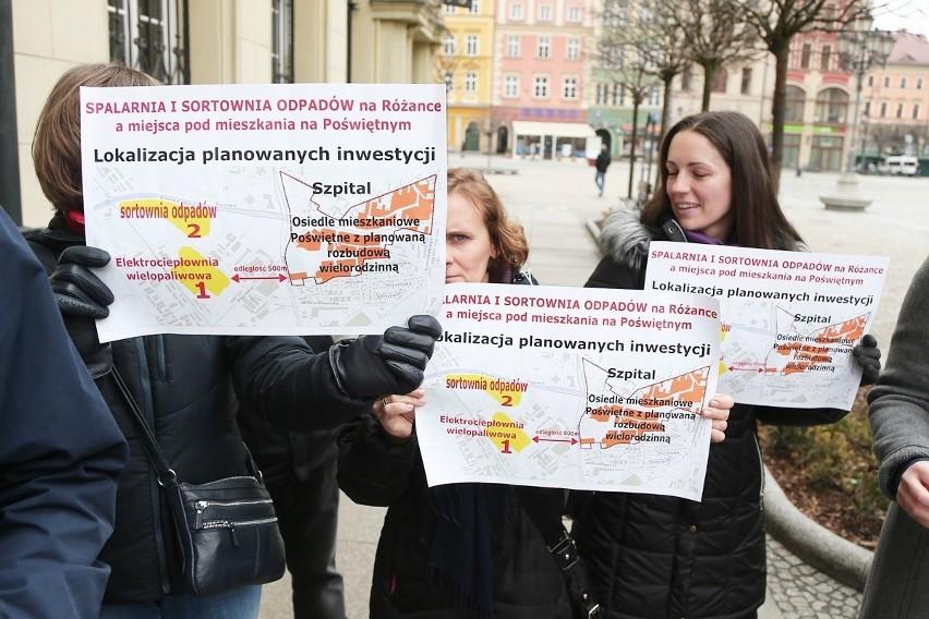 Protestują przeciwko spalarni i sortowni odpadów