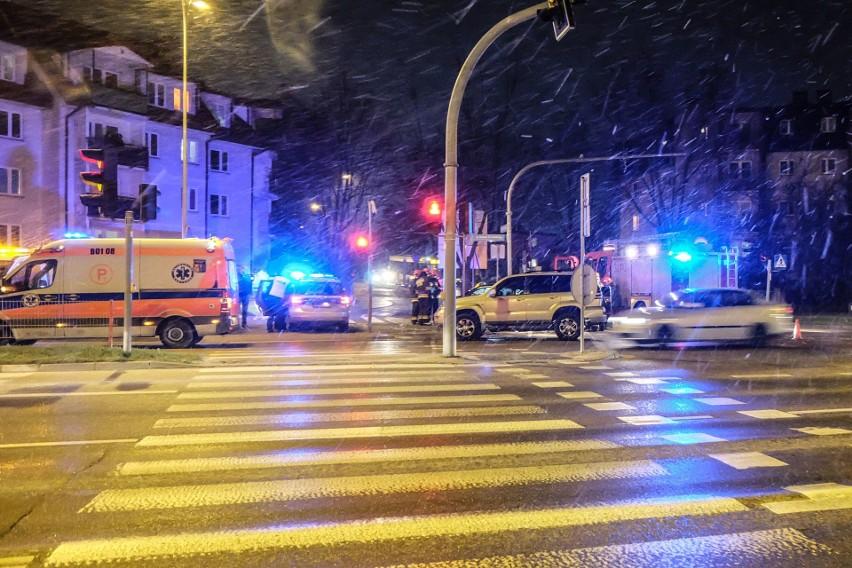 Na skrzyżowaniu ulic Żeromskiego z Pułaskiego zderzyły się...