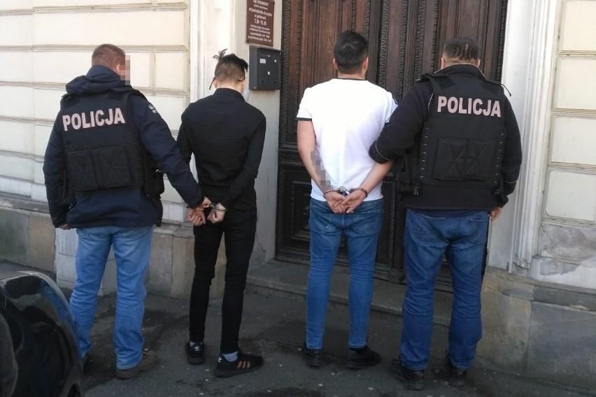 Policja zatrzymała uczestników napadu