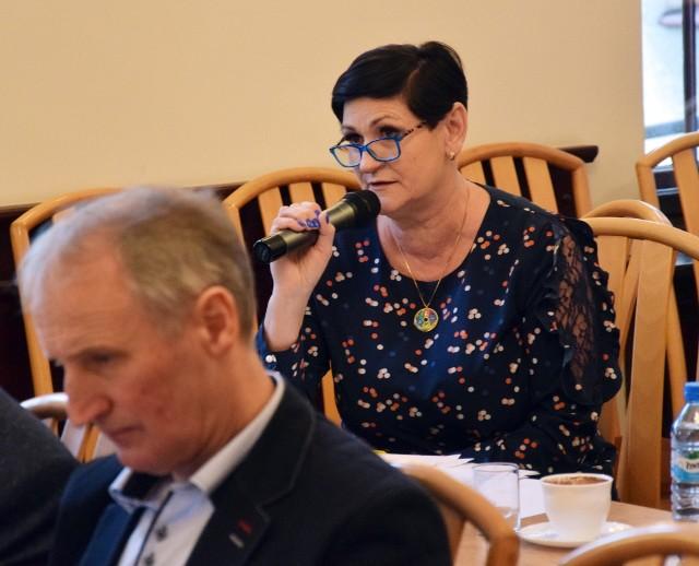 Iwona Ryckiewicz, szefowa ZNP w Miastku