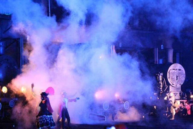 Parada Parowozów w Wolsztynie: Światło, dźwięk i para