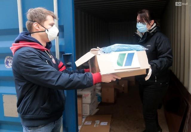 Wydział Inżynierii Mechanicznej i Mechatroniki ZUT przeprowadził zbiórkę dla szczecińskich szpitali.