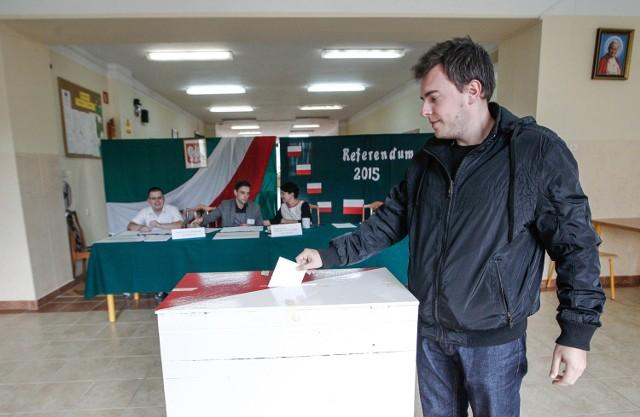 Referendum 2015. Głosowanie w Rzeszowie