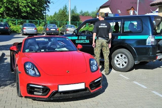 Porsche boxster skradzione w Niemczech