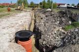 W Skalbmierzu powstaje pierwsze nowoczesne osiedle domów jednorodzinnych. Planowana jest również budowa kolejnego [ZDJĘCIA]ZD