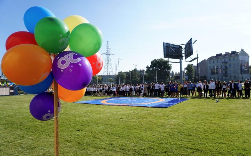 Szkoła Podstawowa nr 20 w Lublinie ma nowe boisko. Zobacz zdjęcia