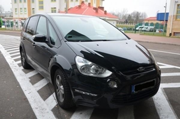 Szacunkowa wartość zatrzymanego auta 130 tys. zł