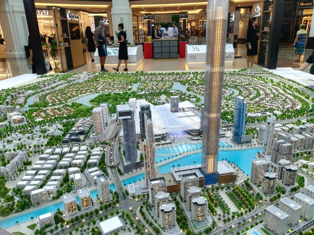 Centrum Dubaju juz wygląda jak miasto przyszłości, a to dopiero początek...