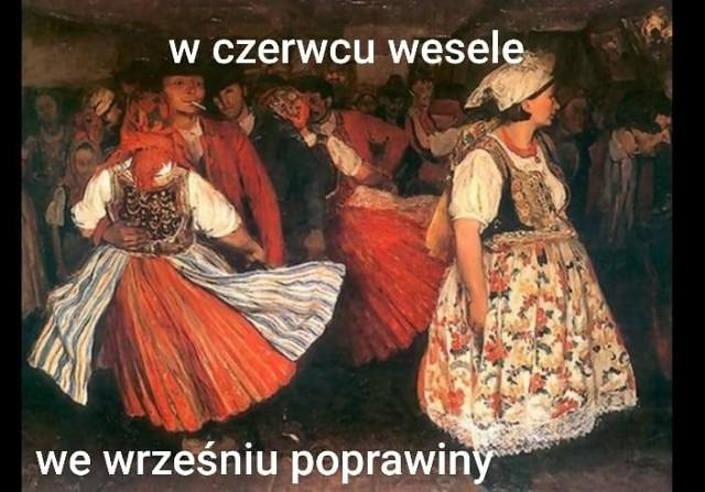 """""""Wesele"""" pojawiło się wśród tematów maturalnych na podstawowym polskim!"""