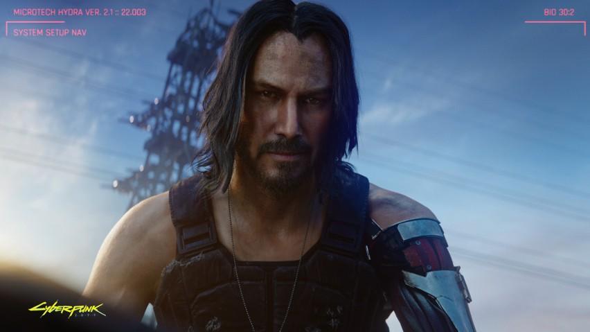 Nowy zwiastun Cyberpunk 2077 z Keanu Reevesem