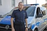 Świebodziński policjant uratował tonącego mężczyznę. Wraz z ratownikiem udzielił mu pierwszej pomocy