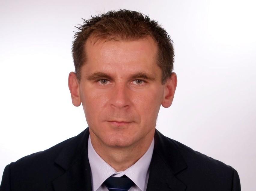 Rafał Piotrowski, dyrektor Zespołu Szkół Technicznych w Częstochowie