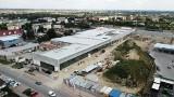 """Budowa Centrum Handlowego """"Sekunda"""" w Jędrzejowie idzie pełną parą. Zobaczcie zdjęcia i film z drona"""