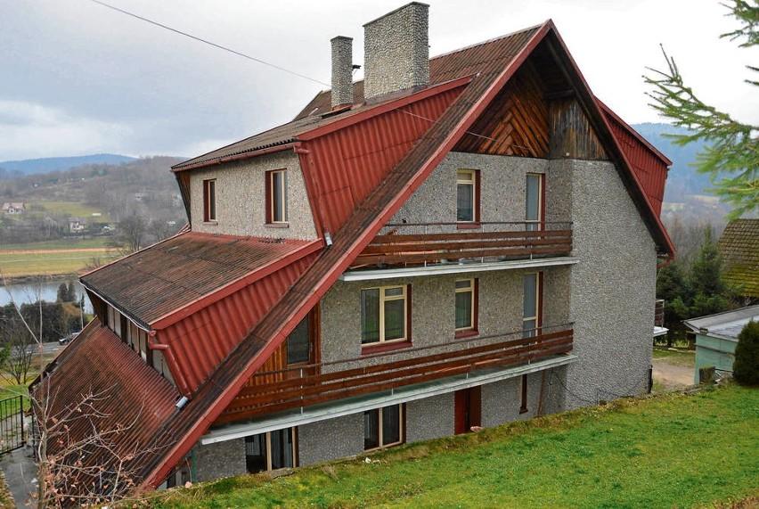 Dom, do którego mieli się wprowadzić Romowie z Limanowej