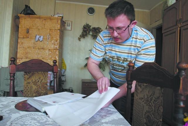 Jacek Fila nie znalazł się na liście mieszkaniowej. Nie wie nawet ile dostał punktów od komisji.