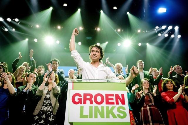 Jesse Klaver - lider Zielonych