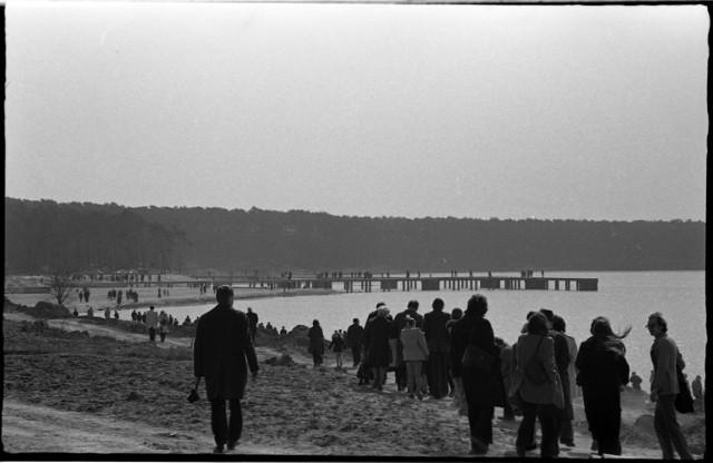 Seria prezentowanych fotografii autorstwa Wojciecha Leona Turżańskiego została zrobiona 31 marca 1974 roku. Negatywy autor zeskanował dopiero w tym roku.