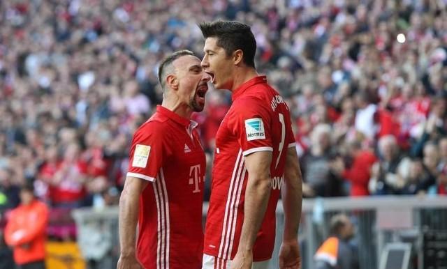 Bayern Monachium - Borussia Dortmund 4:1. Kapitalny występ Roberta Lewandowskiego