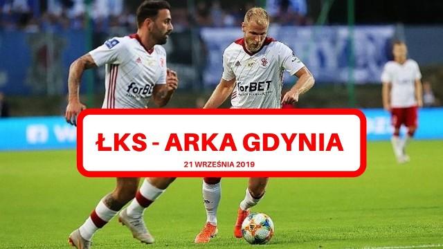 ŁKS - ARKA RELACJA NA ŻYWO 21.09.19. Dziś mecz ŁKS Łódź vs. Arka Gdynia! Śledź wynik i relację LIVE