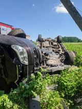 Tragiczny wypadek koło Żagania. Zginęła 37-letnia kobieta