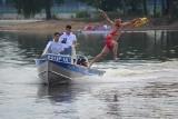 Piłeś - nie płyń! Czasu nie cofniesz. Policjanci i ratownicy nagrali nad zalewem w Sielpi spot profilaktyczny [WIDEO, ZDJĘCIA]