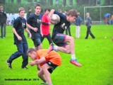 To była świetna zabawa w rugby