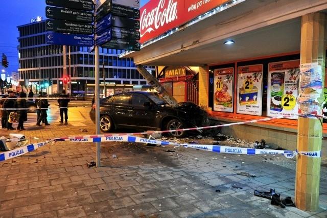 Wypadek na Bramie Portowej.