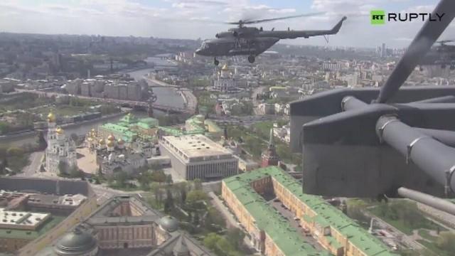 Moskwa: 9 maja niebo na pewno będzie błękitne