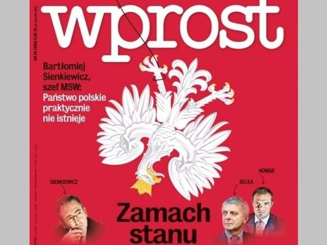 """Redaktor naczelny """"Pressu"""" o wizycie funkcjonariuszy ABW w tygodniku """"Wprost"""": Chodzi o (...) zastraszenie niewygodnych dziennikarzy i redakcji"""""""