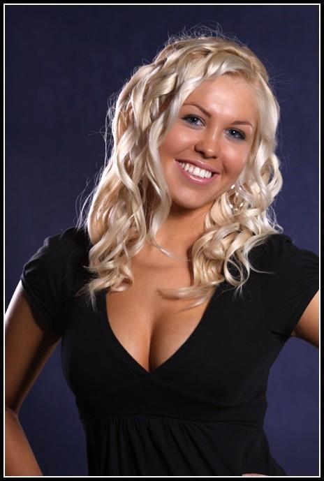 Anna Kurządkowska w konkursie Miss Podlasia 2009 startuje z numerem 11.