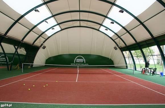 Tak mają wyglądać kryte korty tenisowe w Słupsku