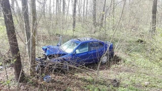 Do wypadku doszło w niedzielę po godz. 13.