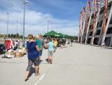 Białystok. Na stadionie miejskim przy ul. Słonecznej odbył się festyn charytatywny na rzecz chorego Dominika (zdjęcia)