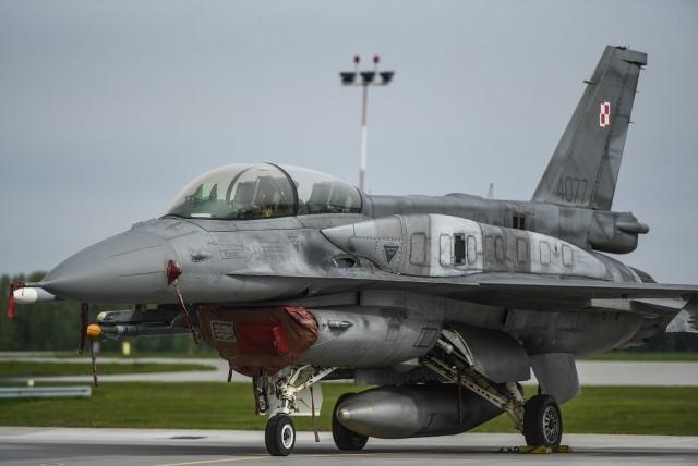 4 polskie wielozadaniowe samoloty F-16 wezmą udział w misji Baltic Air Policing