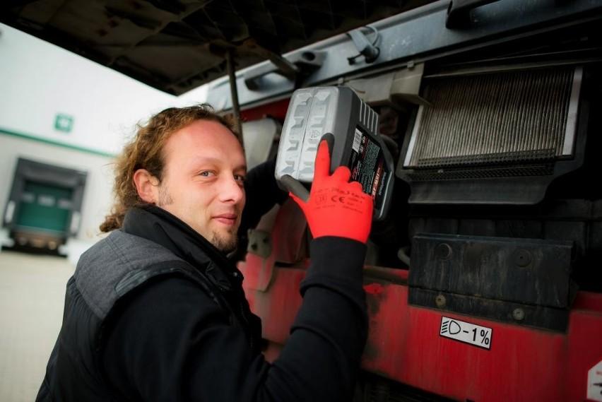 Łukasz Głowniak, trucker z Kąkolewnicy, którego poznała cała Polska