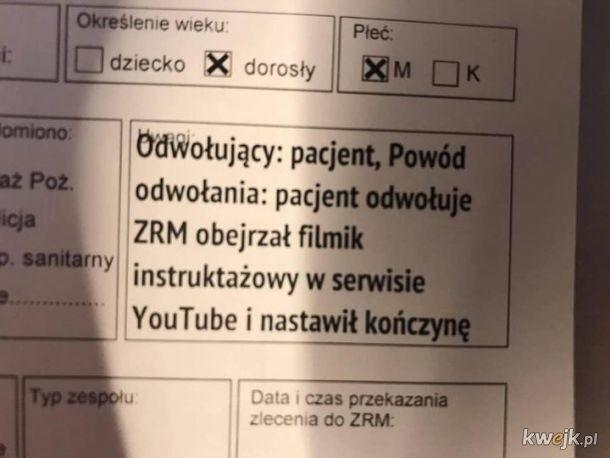 Memy o polskiej służbie zdrowia. Teleporady, e-recepty i milion paradoksów [MEMY] 29.10.