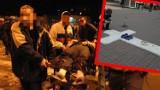 Strzały i dramat na Lumumbowie w Łodzi. Dziś kolejna rocznica tragicznych wydarzeń. Dwie osoby zginęły od policyjnych kul. ZDJĘCIA