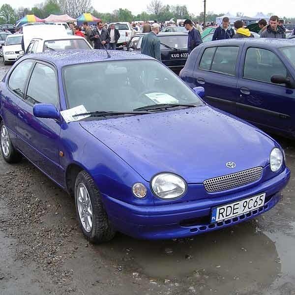 Toyota Corolla...