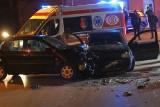 Wypadek w Grębowie. Kierująca volkswagenem polo nie ustąpiła pierwszeństwa, zderzyła się z volkswagenem golfem (ZDJĘCIA)