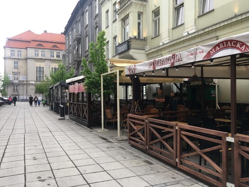 Lokale gastronomiczne na Mariackiej w Katowicach szykują się...